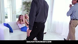 DaugherSwap - Hot teens Fuck...