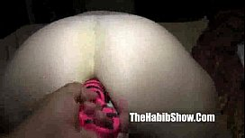 hairy paki luvs fucking that white pussy with her sex toypussy with her sex toys