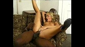 blonde black interracial