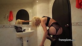 Banging massive tranny ass...