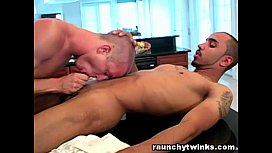 Hot Sexy Dude Shoved...