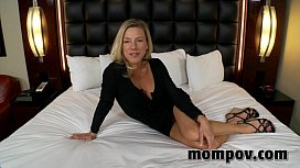 Tight blonde milf gets...