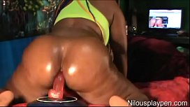 Live Dildo Riding Orgasm...