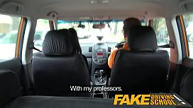 Fake Driving School Sexy...