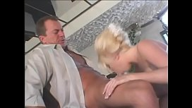 Sexy blonde vixen with perky tits Jammy Brooks gets her clit licked and asshole fucked