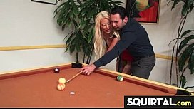 Teen Latina Squirts while...