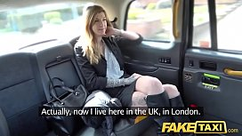 Fake Taxi Busty brunette...