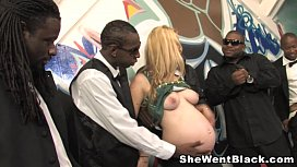 Pregnant and Gangbanged by...