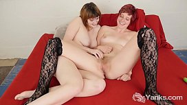 Lusty Yanks Lesbians Sosha Belle And Aurora Odaire