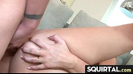 Nice squirting cute gf 18