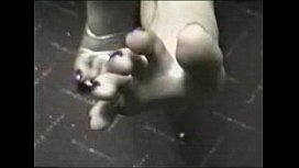 Marcella Footjob At Work...