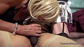 Three older amateur trannys...