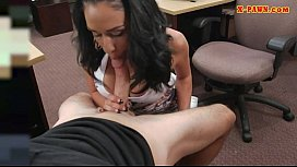 Busty latina pawns her...