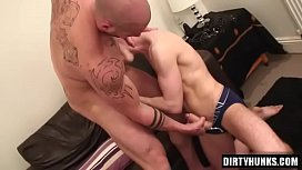 Muscle gay anal sex...