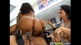 Barbershop Orgy with Olivia...