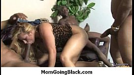 My horny mom get fucked by my black friend 7