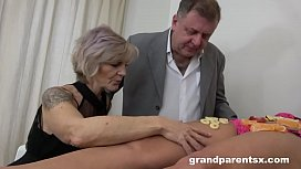 Teen Fucks Old Couple...
