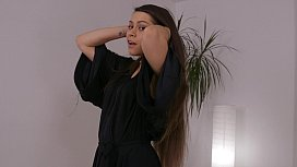 Meana Wolf - Hairjob - Hair...