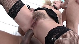 Super slut Blanche Bradburry gets Hard Anal & DP by 5 guys