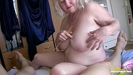 OldNannY Busty Ladies Playing...