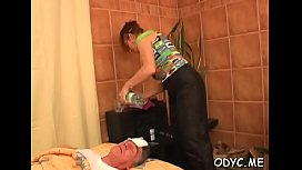 Sex appeal Kate with curvy natural tits doggystyle fucking