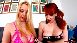 Red XXX and Lucy Gresty masturbate together