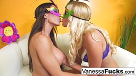 Vanessa Cage gets to...