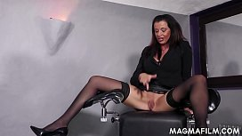 Slutty milf counsels horny couple