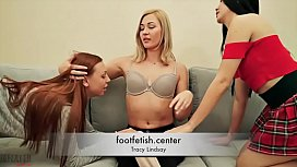 Forced Foot Worship - Tracy...