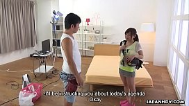 Japanese Babe Mei Wakana Is Eagerly Eating Loads Cum Uncensored