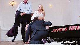 Private.com - Sexy Lucy Heart Gets Hard Double Penetration!