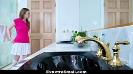 ExxxtraSmall - Pissed Dad Gets...