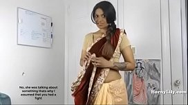 Horny Lily South Indian...