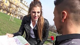 BITCHES ABROAD - Naughty hard fuck abroad with Czech tourist babe Silvia Dellai