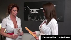 Smoking Cougars Deauxma &amp_ Taylor Ann Fuck Patient For Money!