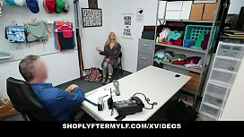 Shoplyfter Mylf - Blonde Milf (Sarah Vandella) Caught and Fucked For Stealing
