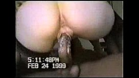 White MILF getting drilled...