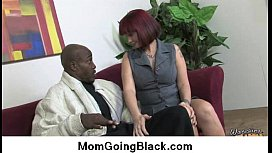 Hot MILF getting fucked by black monster 3