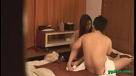 Asian Masseuse Getting Her Nipples Sucked Pussy Fucked Jerking Off Guy Cock On T