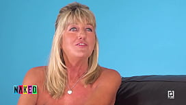 Interview with a mature female Contestant from German Naked Attraction