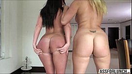 Two hot girls Layla...