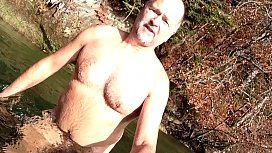 skinny dipping in late fall