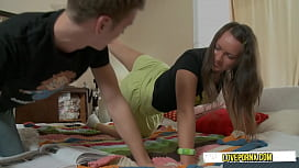 Step Brother With Stepsister Change Playing Games Into Fuck