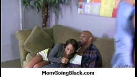 Black Dong stuffed in my moms pussy 23