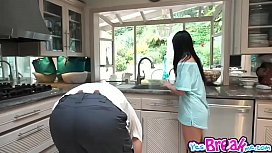 Cindy Starfall blowjob the...