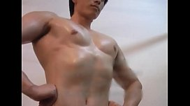 sexy asia amateur boy muscle big-cock big-dick homemade hot chinese model