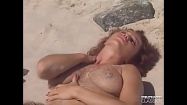Erika Bella, Busty Redheaded Fucking in a Tropical Beach