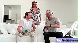 Hot Big Tits Housewife (Richelle Ryan) Get Banged Hard Style On Tape vid-22