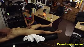Sexy Asian Masseuse Tricked...