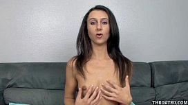 Lina Cole eagerly swallowing...
